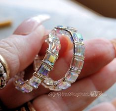 wrapped crystal jewelry | Wire Jewelry Tutorial - Wire Wrapped Crystal Hoop Earrings - Instant ...