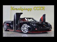 Видео обзор автомобиля Koenigsegg CCXR со всех сторон