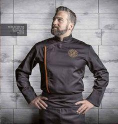 chaquetas para chef. Clement Design, modelo Firenze. #chef #uniformes #filipinas #chaquetas.