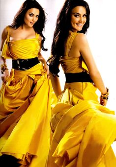 Double trouble. #Preity #Bollywood