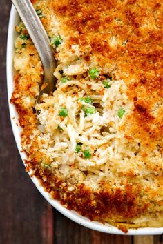 "This is one of those ""after Thanksgiving"" recipes that should be made ALL the time! It's great with chicken and the leftovers are so good.  http://www.thewickednoodle.com/turkey-tetrazzini/?utm_campaign=coschedule&utm_source=pinterest&utm_medium=The%20Wicked%20Noodle&utm_content=Turkey%20Tetrazzini%20with%20a%20Crunchy%20Parmesan%20Panko%20Topping"