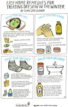 Easy Home Remedies for Treating Dry Skin in the Winter