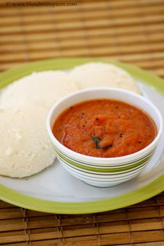 Onion Tomato Red Chutney #Recipe - Red Chutney for Idli Dosa - Easy #Chutney #Recipes.. #indianfood #cooking #indianrecipes #sidedish #foodblog
