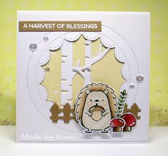 Kunis Bastelblog: A Harvest of Blessings