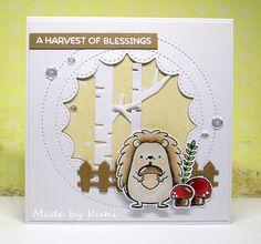Kunis Bastelblog: A Harvest of Blessings