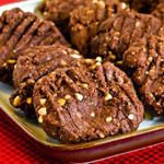 Kalyn's Kitchen: Flourless and (almost) Sugar Free Cookies with Peanut Butter and Chocolate