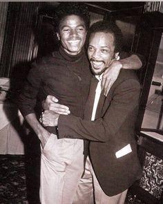 Michael and Quincy Jones