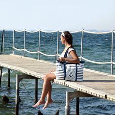 Strandtasche nähen: einfache Anleitung für Nähanfänger