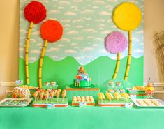 This is Part 2 of the post about the Lorax-inspired party. This post covers some of the decorations I made for the party, the games and act...