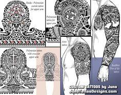 haida polynesian aztec tribal tattoo, juno tattoo designs