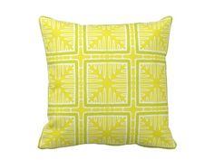 The lemon and lime citrus colors ont his pillow make me happy.
