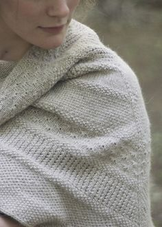 Ravelry: a study in texture shawl pattern by the knitting primate