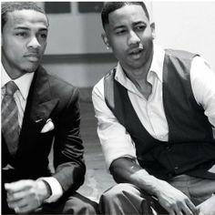 Bow Wow and Brandon T. Jackson. Yummmmmmm