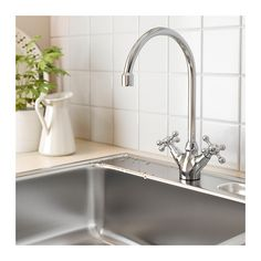ЭДСВИК Смеситель кухонный с 2 вентилями  - IKEA