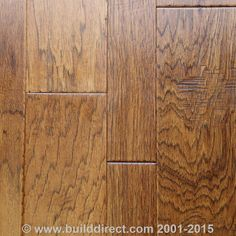 Engineered Hardwood Blended Width Chiseled Hickory Collection Hinton