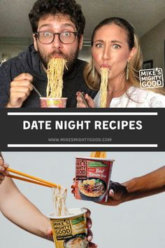 On any given stay-at-home date-night, there's a very good chance that we can be found slurping on a shared bowl of steaming ramen noodles together, Lady and the Tramp style. #DateNight #ValentinesDay #ValentinesDayDinner #ramendinnerrecipes #ramennoodlerecipes #ramenrecipes #bestramenrecipe #ramendinner #topramendinners #ramennoodleseason #rameneasy #easyramenrecipes Ramen Dishes, Ramen Bowl, Ramen Noodle Recipes, Ramen Noodles, Egg Drop Ramen, Best Ramen Recipe, Fried Ramen, Ramen Toppings, Vegetable Ramen