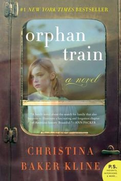 Orphan Train. I just started reading this book and can't put it down! A must read! :)