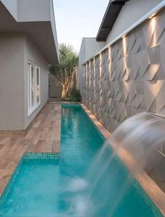 Small pools Source by anamanaia Pool House Designs, Backyard Pool Designs, Small Backyard Pools, Small Pools, Swimming Pools Backyard, Swimming Pool Designs, Patio Design, Backyard Patio, Backyard Landscaping