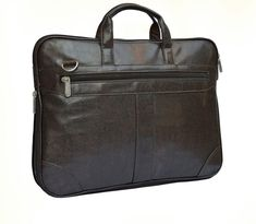 7ab0b41675 Genuine Leather Klasse Leather Office Bag Messenger Bag For Men   Women