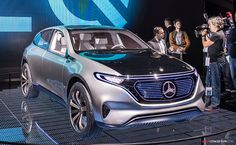 2016 Mercedes-Benz 'Generation EQ' Concept