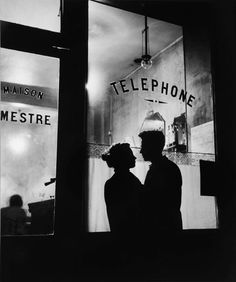 Willy Ronis - Menilmontant, Paris, France (1957)