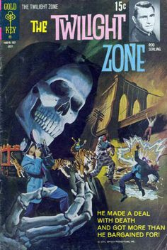 The Twilight Zone Comic #38 Publisher: Gold Key Comics Date: July 1971