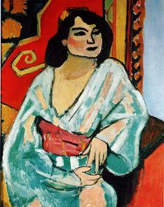 1909 – L'ALGÉRIENNE. Henri Matisse