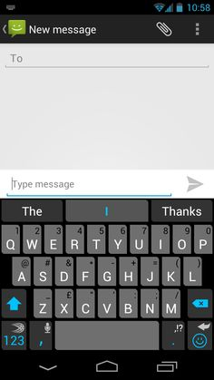 The SwiftKey Cobalt theme, our flagship theme for SwiftKey 3, which was launched in June 2012.
