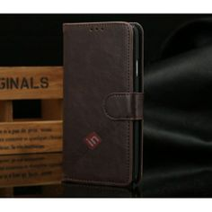 Luxury Crazy Horse Leather Wallet Case For Samsung Galaxy Note 3 iii N9000 With Credit Card - Dark Brown US$12.69