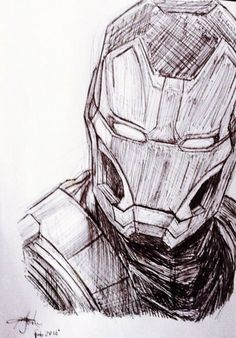 Iron Man sketch - Visit to grab an amazing super hero shirt now on sale!Awesome Iron Man sketch - Visit to grab an amazing super hero shirt now on sale! Pencil Art Drawings, Art Drawings Sketches, Cartoon Drawings, Cool Drawings, Drawing Art, Ironman Sketch, Superhero Sketches, Iron Man Drawing, Avengers Drawings