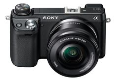 Amazon.com : Sony NEX-6L/B Mirrorless Digital Camera with 16-50mm Power Zoom Lens and 3-Inch LED (Black) (OLD MODEL) : Compact System Digital Cameras : Amazon Warehouse Deals