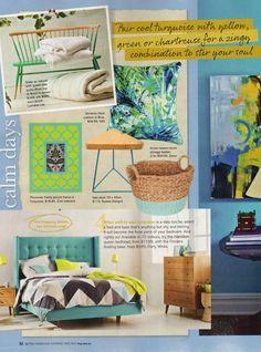 Better Homes & Gardens – May 2015 Sorrento multi cushion