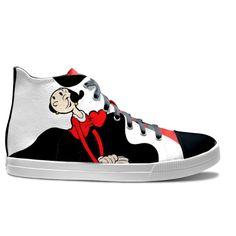 idxshoes.com - Hi-Top Sneakers Converse Chuck Taylor High, Converse High, High Top Sneakers, Chuck Taylors High Top, Pop Art, High Tops, Shoe Bag, Bags, Shoes