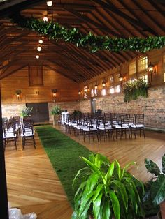 I guess if i have to have an indoor wedding i could always do this