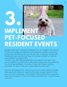 Discover a resident retention plan that keeps multifamily residents happy. Plus over 20 resident retention event ideas! Post Date: February 2020