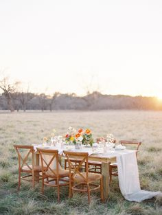 Fall bridals in the Golden Grasses of Texas via Magnolia Rouge
