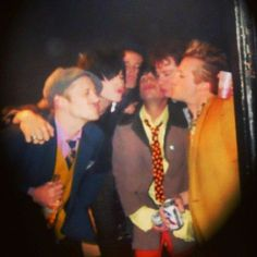 Foxboro Hot Tubs doing the duck face