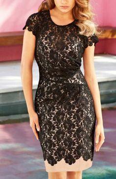Perspective Lace dress_Dresses(d)_DESIGNER_Voguec Shop