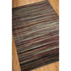 Nourison Expressions Multicolor 5 ft. 3 in. x 7 ft. 5 in. Area Rug-019370 at The Home Depot