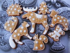 Christmas Gingerbread, Christmas Candy, Christmas Baking, Gingerbread Cookies, Honey Cookies, Bear Cookies, Cupcake Cookies, Animal Cookie Cutters, Honey Buns