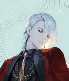 Darcry (Dhamanu), King of Hell, Lily's 400 year crush. Fate Zero, Fate Stay Night, Character Concept, Character Art, Fantasy, Anime Art, Manga Anime, Fate Anime Series, Hot Anime Guys