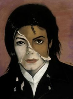 Black art - Man In the Mirror: Michael Jackson by Laurie Cooper