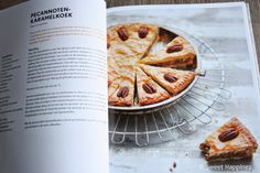 Pecannoten-karamelkoek | Lekker! | Uit: Rutger bakt