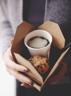 take away breakfast.