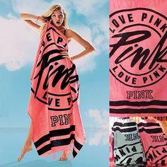 Pink Bikini Beach Towels Item specifics Technics:Woven Pattern:Printed Pattern Type:Letter Type:Bath Towel Style:Plain Cotton Model Disposable:No Shape:Rectangle Fea Bikini Rosa, Pink Bikini, Bikini Beach, Pink Towels, Victoria Secret Bikini, Everything Pink, Pink Outfits, Pink Love, Victoria's Secret Pink