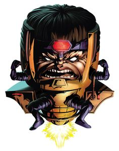 Which Marvel Villain Are You You got: M.O.D.O.K You're extremely smart, but have major anger issues. That is understandable, since you are a giant mutated head with tiny arms and legs who flies around in a floating chair.