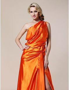One Shoulder evening Dress inspired by Karolina Kurkuva