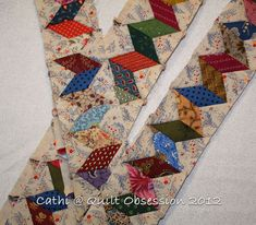 I love this border for a Halle Rose giant star quilt. May use HSTs instead of diamonds. No set-in seams that way. Patchwork Quilt Patterns, Scrappy Quilts, Patch Quilt, Quilt Blocks, Quilting Projects, Quilting Designs, Quilt Boarders, Borders For Quilts, Tutorial Patchwork