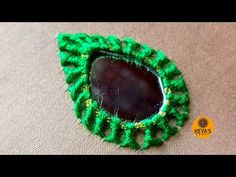 Hand Embroidery Patterns Flowers, Wool Applique Patterns, Basic Embroidery Stitches, Hand Embroidery Videos, Hand Embroidery Tutorial, Embroidery Works, Hand Embroidery Designs, Embroidery Kits, Kutch Work Designs