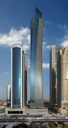 Ocean Heights   Aedas   Architecture   Residential   Dubai, UAE